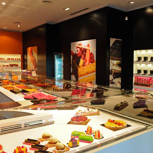 Salon de th p tisserie chocolaterie lesage gen ve suisse for Salon patisserie