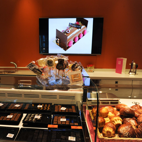 Salon de thé Pâtisserie Chocolaterie Lesage Genève
